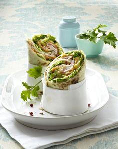 Unser beliebtes Rezept für Wraps mit Hähnchen und Mango-Chutney und mehr als 55.000 weitere kostenlose Rezepte auf LECKER.de.