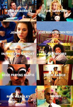 Nicknames.