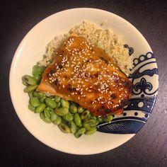 Hard Parade: Miso-Glazed Salmon Bowl