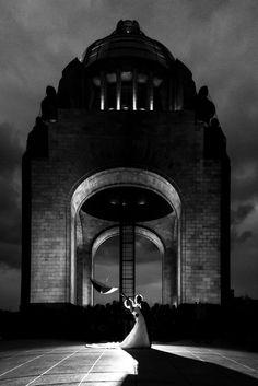 Boda en México DF Monumento a la Revolución