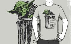 Yoda the grouch...heheh