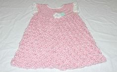 Ravelry: Project Gallery for Crochet Baby Dress - Solomon's Knot pattern by Teresa Richardson