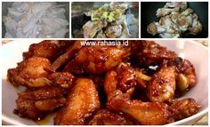 Rahasia.id: Resep Spicy Chicken Wings Menu Andalan Pizza Hut. Gampang Banget!