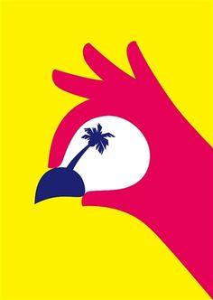 Noma Bar bird print