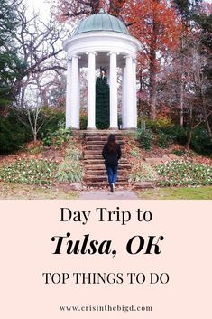 Considering taking a day trip to Tulsa, Oklahoma? Check out this post for top things to do and must-see places that you can include in your itinerary! Tulsa Oklahoma, Travel Oklahoma, Oklahoma City, Cool Places To Visit, Places To Go, Tulsa Time, Most Beautiful Gardens, Argentina Travel, United States Travel