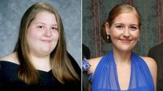 .  -- How she lost 12 dress sizes in 5 months.