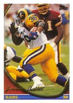 1994 Topps #100 Jerome Bettis Front