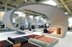 curved exhibition stands - Google Search