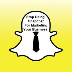 Snapchat – A Wrong Choice For Digital Marketers | Million Dollar Blog