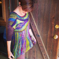 Free range short row tunic (in the upcoming 2015 Inspired Knitters Club)