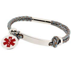 Medical Alert Bracelet Personalized By Ejengraving Emergency In Case Of