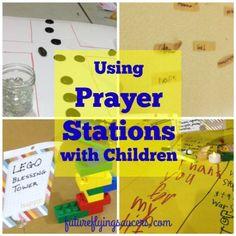 prayer stations for Sunday School
