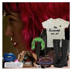 """""""Ramona Flowers"""" by anyapearl ❤ liked on Polyvore featuring Glamorous, Biba, Shellys, Topshop, Pamela Love and wlw"""