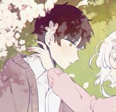 𝓛𝓲𝓷 - Anime Couples Anime Couples Drawings, Couple Drawings, Anime Love Couple, Cute Anime Couples, Anime Chibi, Kawaii Anime, Photo Couple Amoureux, Matching Profile Pictures, Avatar Couple
