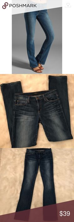 """Joe's Jeans Melodie Skinny Bootcut Melodie Skinny Bootcut Jeans by Joe's. Measures 16.5"""" across waist and 34.5"""" inseam. Hardly worn and in excellent condition. Joe's Jeans Jeans Boot Cut"""