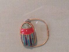 Pharaonic scarab ring, metropolitan museum