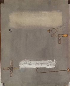 just another masterpiece: Antoni Tàpies, 1977 Signs.