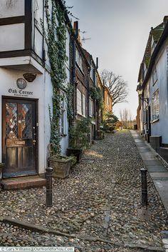 Oak Corner, Rye, East Sussex, England, UK