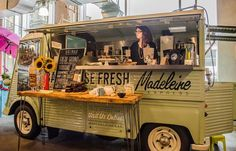 Wilkinson Mobile Catering Systems Ltd Citroen Type H, Citroen H Van, Car Food, Food Vans, Coffee Carts, Coffee Truck, Catering Van, Mobile Food Trucks, Coffee Shop Business