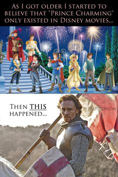 Tom Hiddleston makes you believe Prince Charming is really out there.