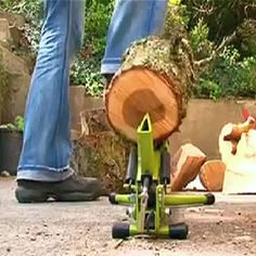 Foot Operated Log Splitter #peoplebazar