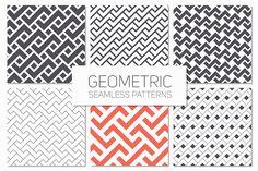 Geometric Seamless Patterns Set 3