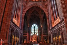Liverpool Anglican Cathedral. 2008