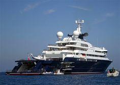 Carlos Slim Helu Yacht   Paul Allen to Give Away Half of His Fortune   LUXUO Luxury Blog