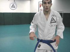 Rener Gracie on How to Tie the Belt - YouTube