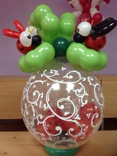 1000 images about stuffed balloons on pinterest for Balloon decoration machine