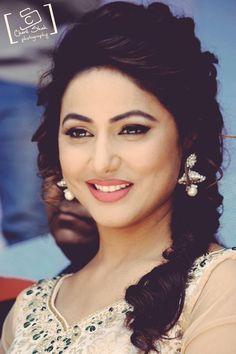 Indian television actress Hina Khan