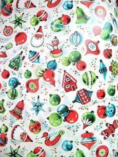 vintage wrapping paper via Gigi & Big Red on Flickr.