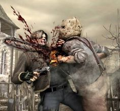 From Resident Evil to Left 4 Dead, here are our ten favorite zombie games of all time! Resident Evil Game, 4 Wallpaper, Photo Awards, Cg Art, Claude Monet, Color Theory, Historical Sites, Game Art, Video Games