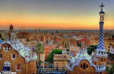 Park Güell, Barcelona.  My favorite park in the world so far...