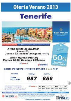 60% Bahia Principe Tenerife Resort salidas desde Bilbao - http://zocotours.com/60-bahia-principe-tenerife-resort-salidas-desde-bilbao-2/