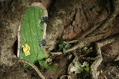 SOMETHING of a stir is caused each summer in Gelt Woods, near Brampton, Cumbria. A number of 'fairy houses appear. The six-inch high houses first mysteriously appeared in 2010. No-one knows who put them there; some suggested an artist with a sense of humour but we prefer to believe the fairies themselves built them. Some of the houses were numbered and some of them had names on the door. For instance there was an Ivy Cottage and a Mossy Hows. There was even a sign on one of the doors asking the