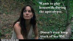 Hate Lori...HATE her.