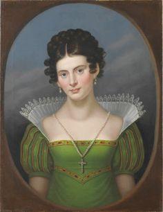 Caroline Bardua - Portrait of Dorothee van Herzseele, 1817