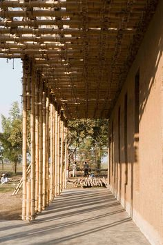 Winners of 2013 Architecture of Necessity Triennial Locally manufactured school in Pakistan by Roswag Architekten, Germany