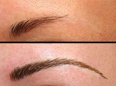 hair stroke eyebrows permanent makeup - Google Search