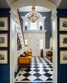 Florida Mansion, Florida Home, Miami Florida, Modern Entryway, Entryway Decor, Chinoiserie, Architecture Design, Champagne, Chandelier