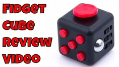 Fidget cube Review and Unboxing Magic Cube Stress Reliever 6 sides Test ...