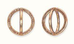 A PAIR OF COLOURED DIAMOND GLOBE EAR CLIPS, BY JAR