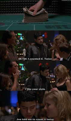 """As well as the value of money. 