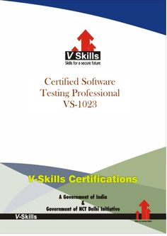Vskills offering certification in software testing  professional.  For more details on Certification on can check the link below:  http://www.vskills.in/certification/Certified-Software-Testing-Professional