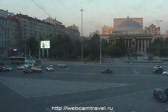 Новосибирск, пл. Ленина, Россия