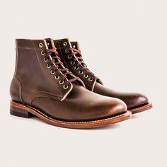 Oak Street Bootmakers   Brown Trench Boot - Footwear