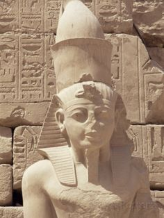 size: Photographic Print: Statue of the Pharaoh Ramses II, Karnak Temple, Thebes, Unesco World Heritage Site, Egypt by Nico Tondini : Travel Ancient Egypt, Ancient History, Egyptian Kings And Queens, Ramses, Egyptian Art, Egyptian Pharaohs, Gods And Goddesses, World Heritage Sites, Alter