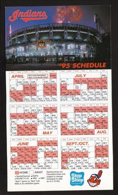 photograph about Indians Schedule Printable identify 54 Ideal Cleveland indians Schedules pics inside 2018