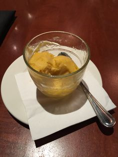 The City Cellar......Mango Sorbet